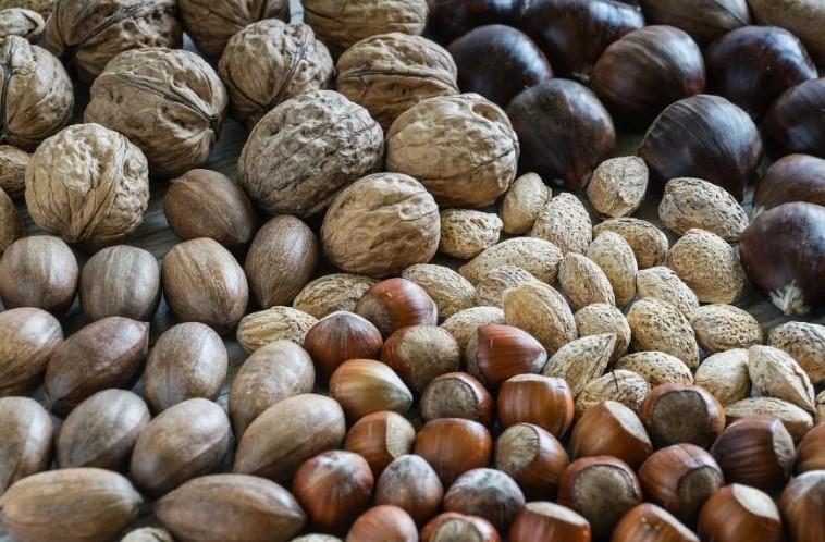 frutos secos alimentación saludable no cara
